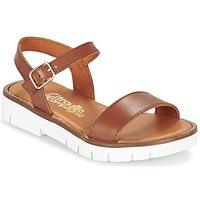 鞋子 女孩 凉鞋 Citrouille et Compagnie GLAPOTI 驼色