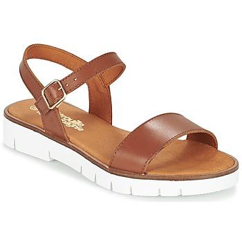 鞋子 女孩 涼鞋 Citrouille et Compagnie GAPOTI 駝色