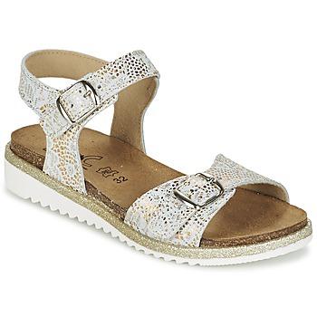 鞋子 女孩 涼鞋 Citrouille et Compagnie GUAFRETTE 金色