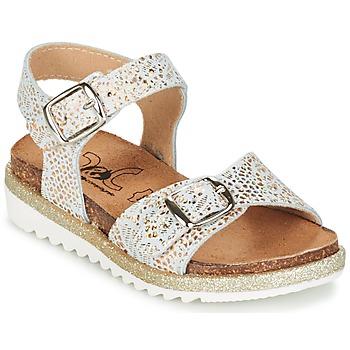 鞋子 女孩 凉鞋 Citrouille et Compagnie GUAFRETTE 金色 / 白色