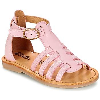 鞋子 女孩 凉鞋 Citrouille et Compagnie JASMA 玫瑰色