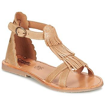 鞋子 女孩 凉鞋 Citrouille et Compagnie GAMELA 驼色