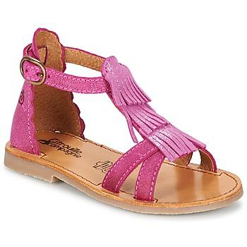 鞋子 女孩 凉鞋 Citrouille et Compagnie GAMELA 玫瑰色