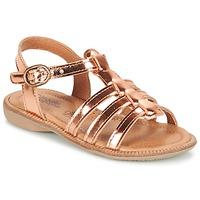 鞋子 女孩 涼鞋 Citrouille et Compagnie GROUFLA 古銅色
