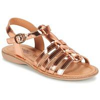 鞋子 女孩 凉鞋 Citrouille et Compagnie GROUFLA 古銅色