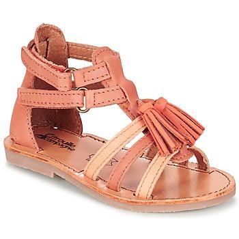 鞋子 女孩 凉鞋 Citrouille et Compagnie GOFARO 桃色