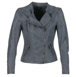 衣服 女士 皮夹克/ 人造皮革夹克 Only AVA 海蓝色