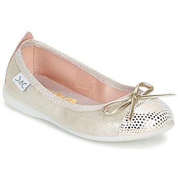 鞋子 女孩 平底鞋 Citrouille et Compagnie GRAGON 米色 / 浅黄色