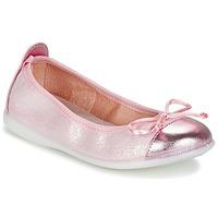 鞋子 女孩 平底鞋 Citrouille et Compagnie GRAGON 玫瑰色 / 浅黄色