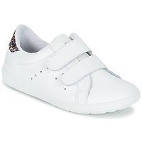 鞋子 女孩 球鞋基本款 Citrouille et Compagnie GRANOU 白色 / 浅黄色
