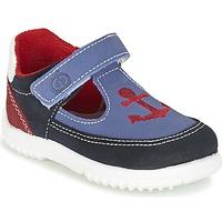 鞋子 男孩 凉鞋 Citrouille et Compagnie GANDAL 蓝色 / 红色