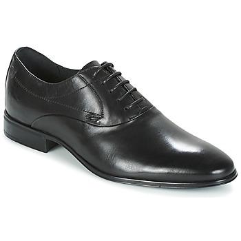 鞋子 男士 系带短筒靴 Carlington 卡尔顿 GYIOL 黑色