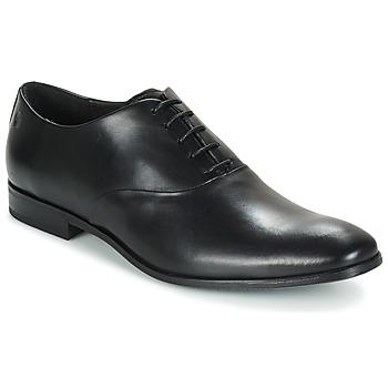 鞋子 男士 系带短筒靴 Carlington 卡尔顿 GACO 黑色