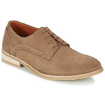 鞋子 男士 德比 Carlington 卡尔顿 GRAO 棕色