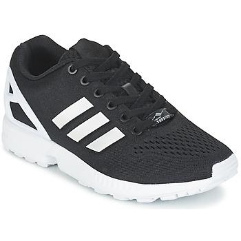 鞋子 球鞋基本款 阿迪达斯三叶草 ZX FLUX EM 黑色