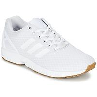 鞋子 男士 球鞋基本款 Adidas Originals 阿迪达斯三叶草 ZX FLUX 白色
