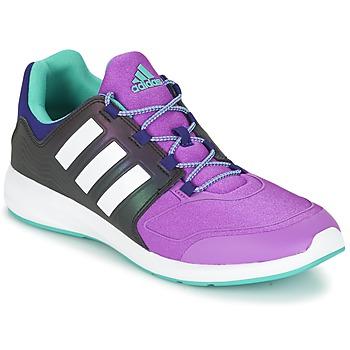 鞋子 儿童 球鞋基本款 adidas Performance 阿迪达斯运动训练 S-FLEX K 黑色 / 紫罗兰