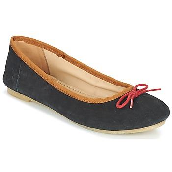 鞋子 女士 平底鞋 Kickers BAIE 黑色 / 红色