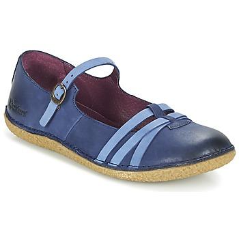 鞋子 女士 平底鞋 Kickers HIBOU 海蓝色