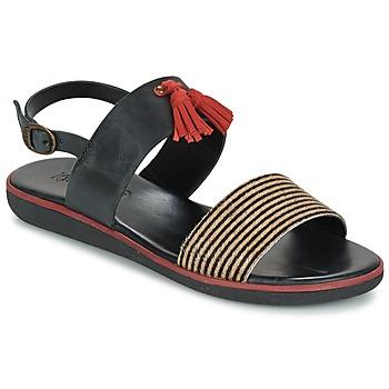 鞋子 女士 凉鞋 Kickers HYRO 黑色 / 红色