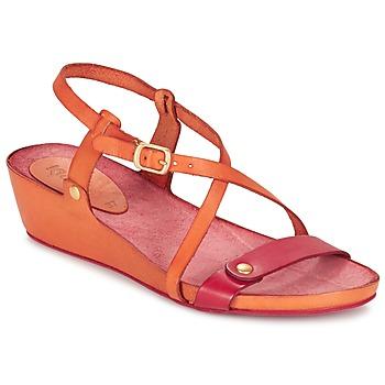 鞋子 女士 凉鞋 Kickers TASTE 橙色 / 红色