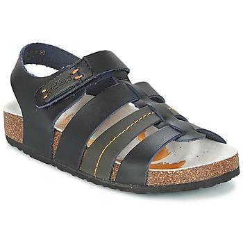 鞋子 男孩 凉鞋 Kickers MAGITEAM 黑色