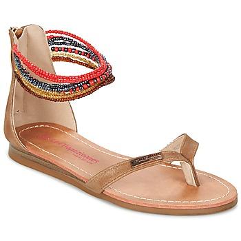 鞋子 女孩 凉鞋 Les Tropéziennes par M Belarbi GINKGO 棕色