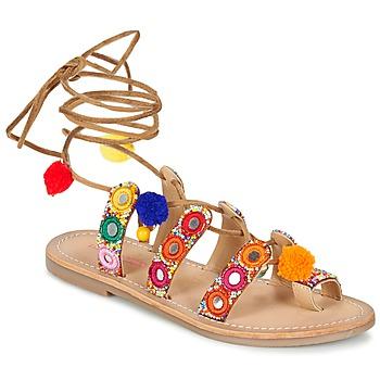 鞋子 女士 凉鞋 Les Tropéziennes par M Belarbi OREA 棕色 / 多彩
