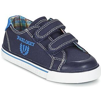 鞋子 男孩 球鞋基本款 Pablosky TEDOUME 蓝色
