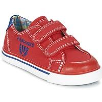 鞋子 男孩 球鞋基本款 Pablosky LIVABI 红色