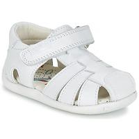 鞋子 男孩 凉鞋 Pablosky NETROLE 白色