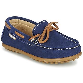 鞋子 男孩 船鞋 Pablosky RACEZE 蓝色