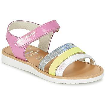 鞋子 女孩 凉鞋 Pablosky RETOKIA 多彩