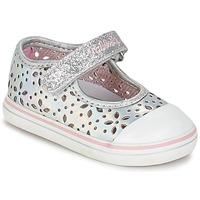鞋子 女孩 平底鞋 Pablosky MEZINILE 银灰色