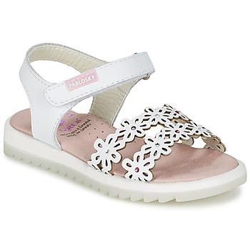 鞋子 女孩 凉鞋 Pablosky COULOIME 白色