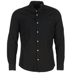 衣服 男士 长袖衬衫 Esprit 埃斯普利 FOVETTIO 黑色