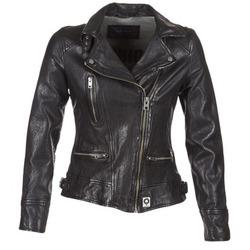 衣服 女士 皮夾克/ 人造皮革夾克 Oakwood VIDEO 黑色