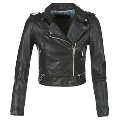 衣服 女士 皮夾克/ 人造皮革夾克 Oakwood YOKO 黑色