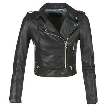 衣服 女士 皮夹克/ 人造皮革夹克 Oakwood YOKO 黑色