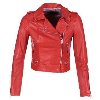 衣服 女士 皮夾克/ 人造皮革夾克 Oakwood YOKO 紅色