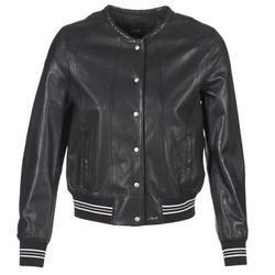 衣服 女士 皮夾克/ 人造皮革夾克 Oakwood 62298 黑色