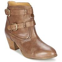 鞋子 女士 短靴 Casual Attitude SANOU 棕色