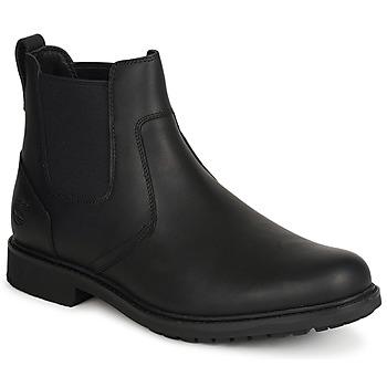 鞋子 男士 短筒靴 Timberland 添柏岚 EK STORMBUCKS CHELSEA 黑色