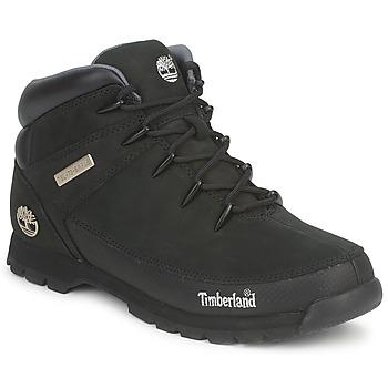 鞋子 男士 短筒靴 Timberland 添柏岚 EURO SPRINT HIKER 黑色