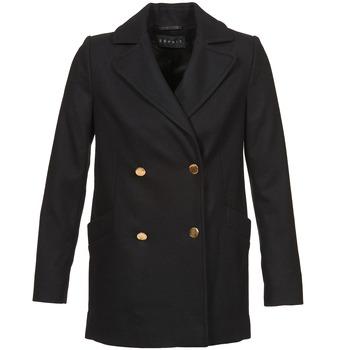 衣服 女士 大衣 Esprit 埃斯普利 WATTS 黑色
