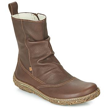 鞋子 女士 短筒靴 El Naturalista NIDO TRAMBU 棕色