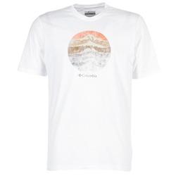 衣服 男士 短袖体恤 Columbia 哥伦比亚 CSC MOUNTAIN SUNSET 白色