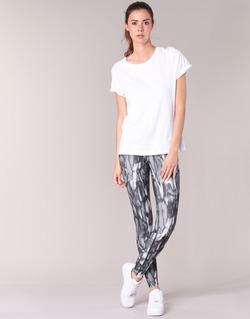 衣服 女士 紧身裤 Nike 耐克 PWR LGND TGHT PRNT 灰色 / 黑色