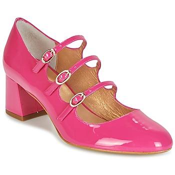 鞋子 女士 高跟鞋 Mellow Yellow BYDOUDOU 紫红色