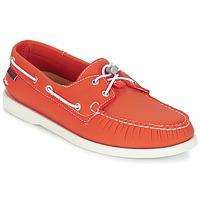 鞋子 男士 船鞋 Sebago 仕品高 DOCKSIDES ARIAPRENE 橙色 / ARIAPRENE